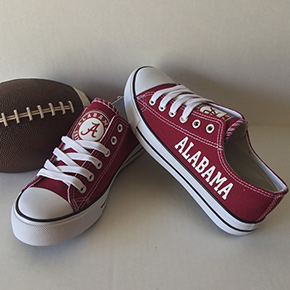 Alabama Crimson Tide Designed Sneakers