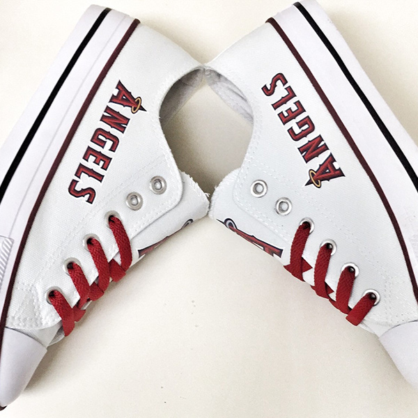 Los Angeles Angels Converse Shoes