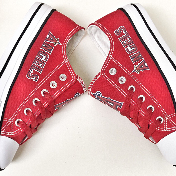 8fd2a75752594 Los Angeles Angels Handmade Converse, Los Angeles Angels Converse