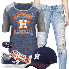 Houston Astros Cute Boyfriend Style