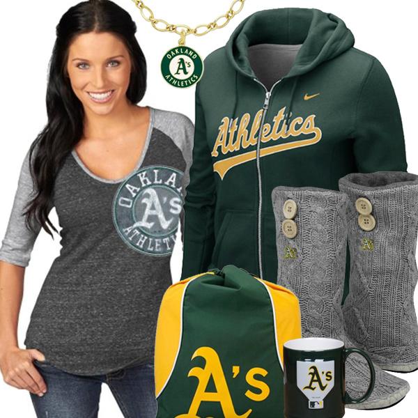 the latest d0bd9 1667a Oakland Athletics Sweatshirts, Athletics T-shirts, Athletics ...