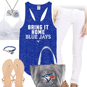 Toronto, White And Blue Jays