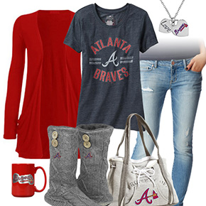 Casual Braves Outfit