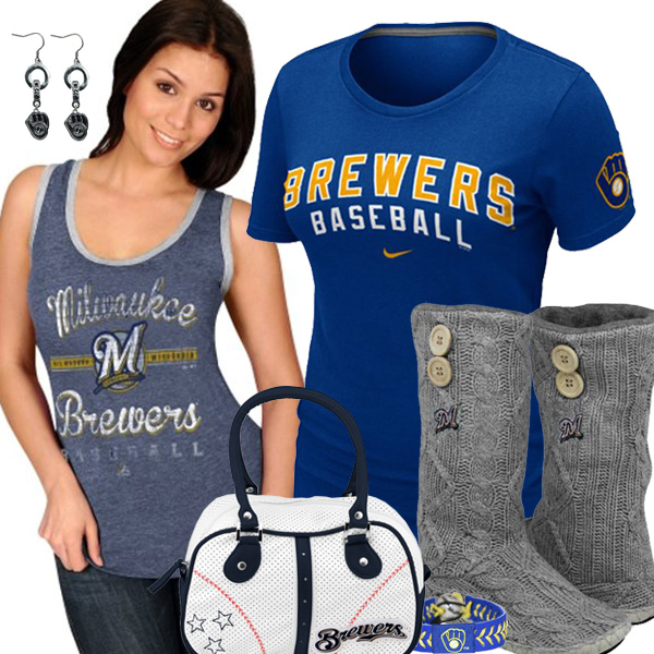 Cute Brewers Fan Gear