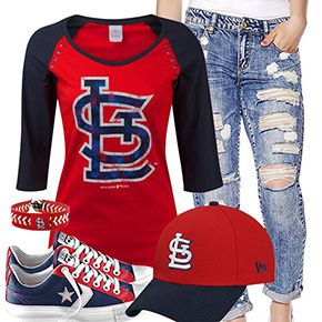 St. Louis Cardinals Cute Boyfriend Style