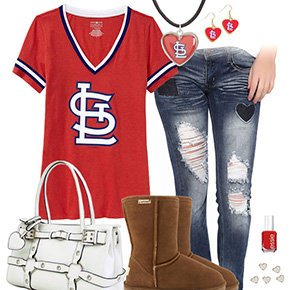 Cute Cardinals Outfit