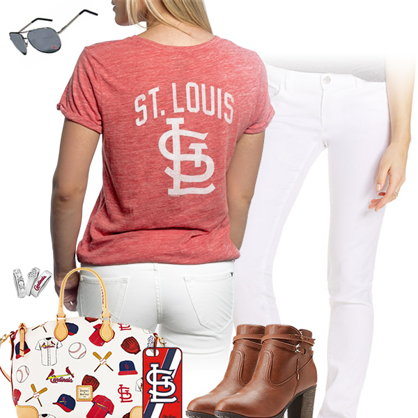 St. Louis Cardinals Tshirt Outfit