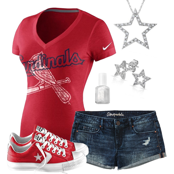 St. Louis Cardinals Outfit With Converse