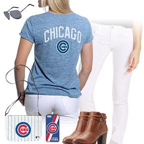 Cubs, White, And Blue