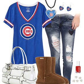 Cute Cubs Outfit