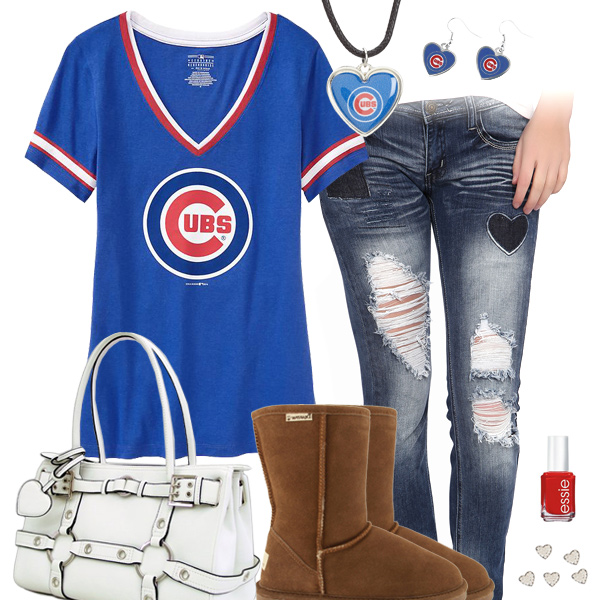 Cute Chicago Cubs Tshirt