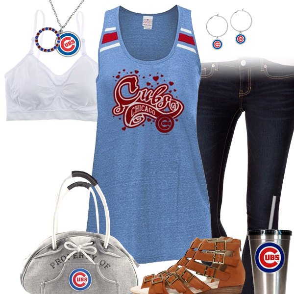 Chicago Cubs Tank Top Outfit