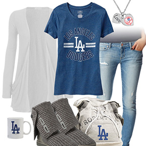 Casual Dodgers Outfit