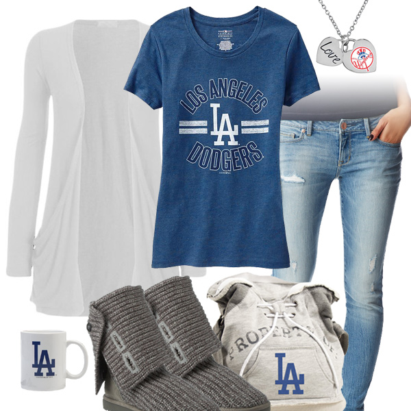 Cute Los Angeles Dodgers Tshirt