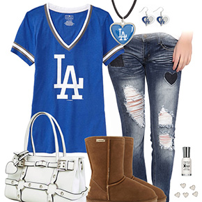 Cute Dodgers Outfit
