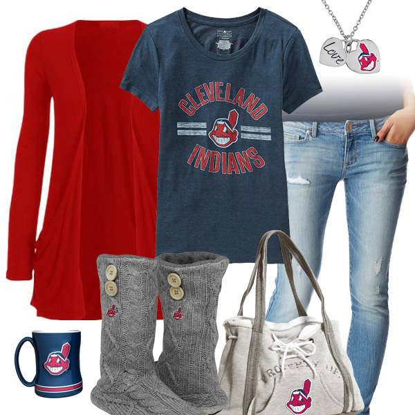 Cute Cleveland Indians Tshirt