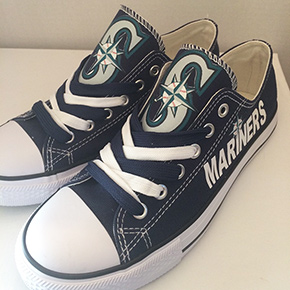Seattle Mariners Designed Sneakers