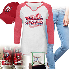 Washington Nationals Ball Girl