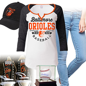Baltimore Orioles Ball Girl