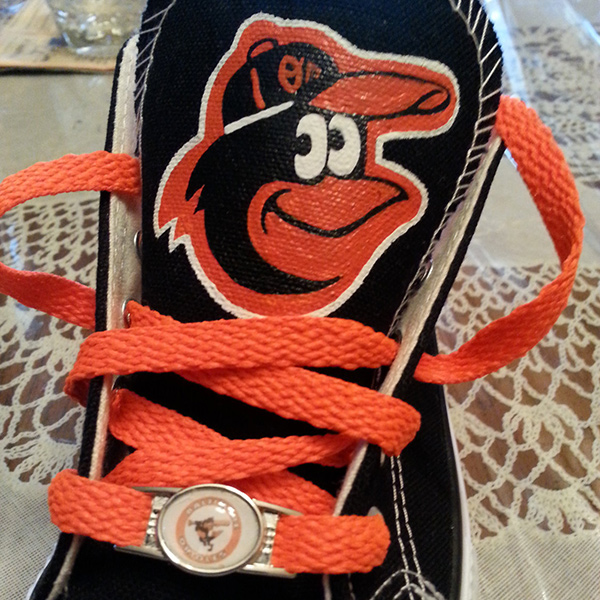 Baltimore Orioles Converse Shoes