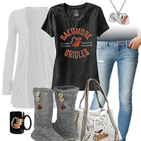 Casual Orioles Outfit