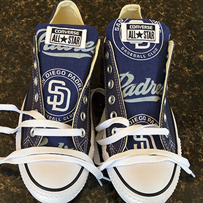 San Diego Padres Designed Sneakers