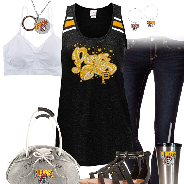 Pittsburgh Pirates Tank Top Outfit