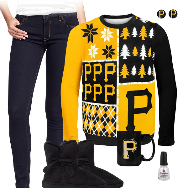 Pittsburgh Pirates Sweater Outfit