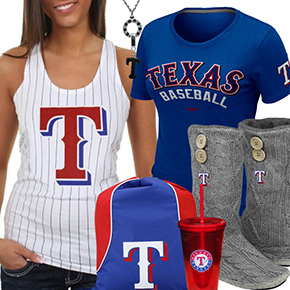 Texas Rangers Fan Gear