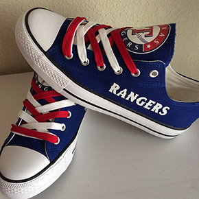 Texas Rangers Designed Sneakers