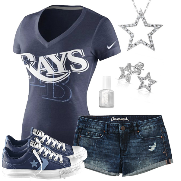Tampa Bay Rays Outfit With Converse