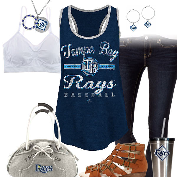Tampa Bay Rays Tank Top Outfit