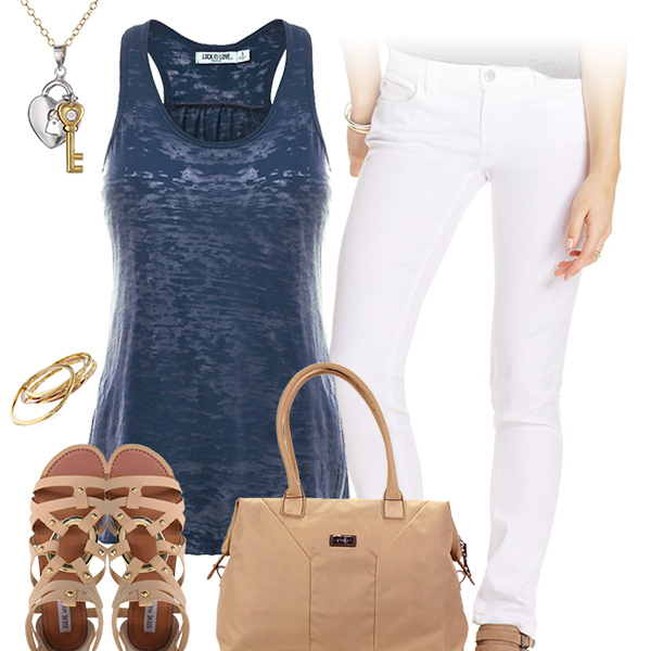 Cute Tank Top Outfit