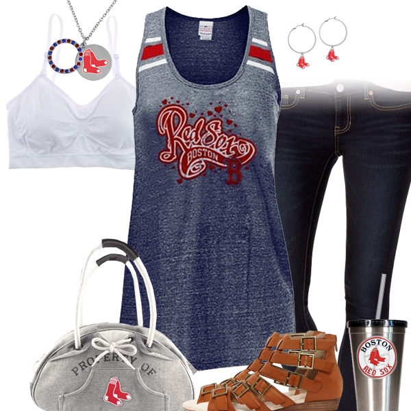 Boston Red Sox Tank Top Outfit