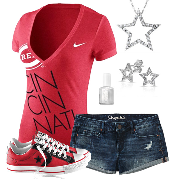 Cincinnati Reds Outfit With Converse