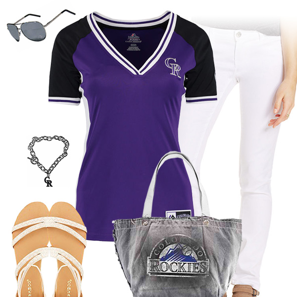 Colorado Rockies Tshirt Outfit