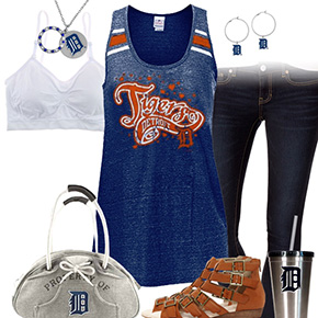 Trendy Chill Tigers Fan