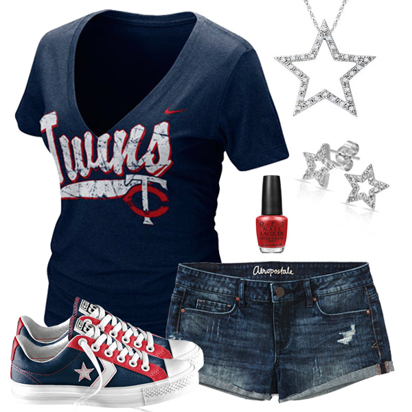 Minnesota Twins Outfit With Converse