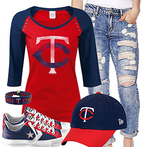 Minnesota Twins Cute Boyfriend Style