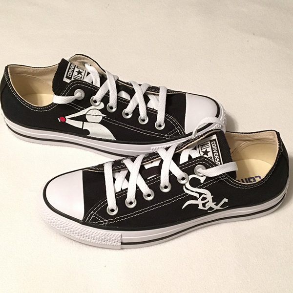 Chicago White Sox Converse Sneakers