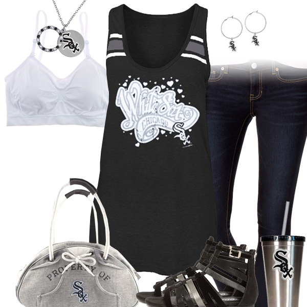 Chicago White Sox Tank Top Outfit