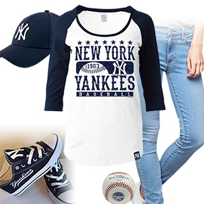 New York Yankees Ball Girl
