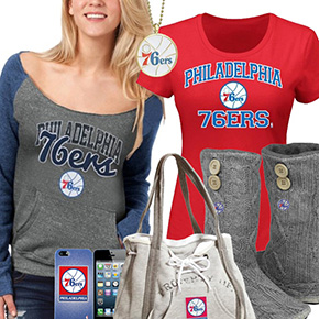 Philadelphia 76ers Fan Gear
