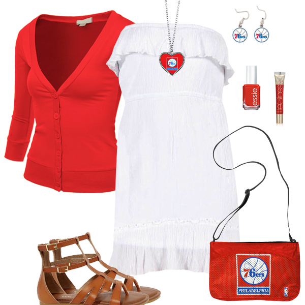 Philadelphia 76ers Dress Outfit
