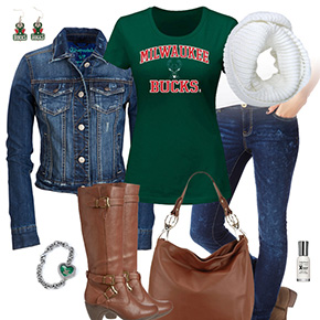 Milwaukee Bucks Blue Jean Baby