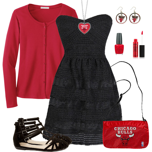 Chicago Bulls Dress Outfit