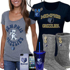 Memphis Grizzlies Fan Gear