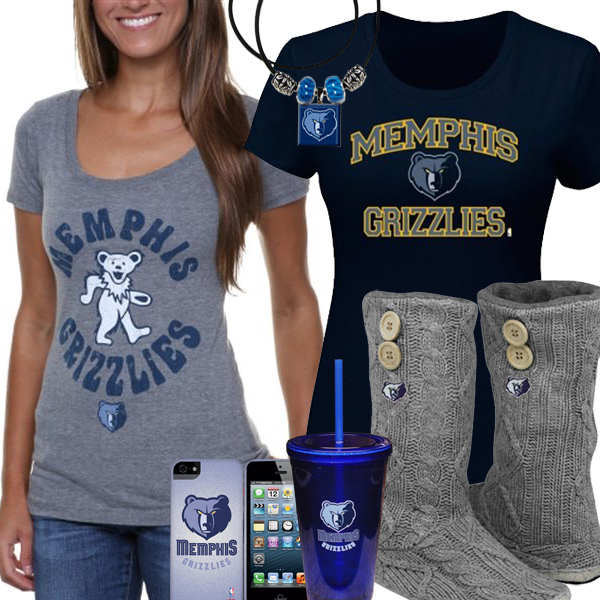 huge discount 8d56e 7224d Memphis Grizzlies NBA Fan Gear, Memphis Grizzlies Female Jerseys