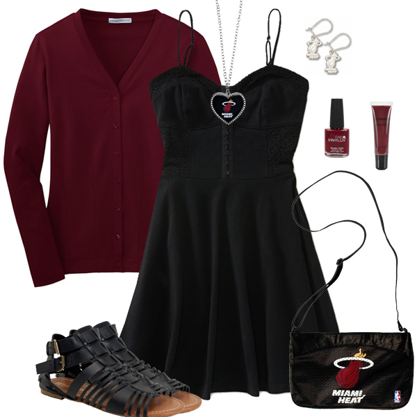 Miami Heat Dress Outfit
