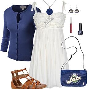 Utah Jazz Springtime Sweetheart